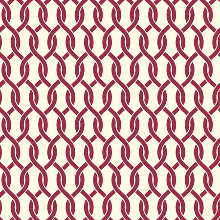 interweave: Vector seamless pattern, graphic geometric wrapping paper made using netting circles. Abstract backdrop created with interweave lines and circles can be used in textile and web designs