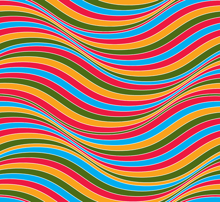 splice: Vector ornamental continuous background made using undulate lines and curves. Colorful netting composition can be used as wallpaper pattern. Illustration