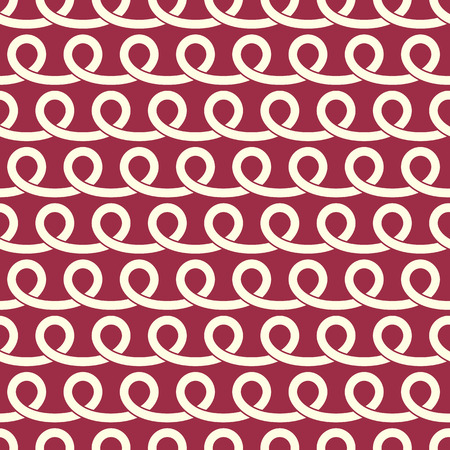 interlace: Vector endless pattern created with spirals and circles, seamless composition. Continuous interlace texture can be used as website background and as wrapping paper. Illustration