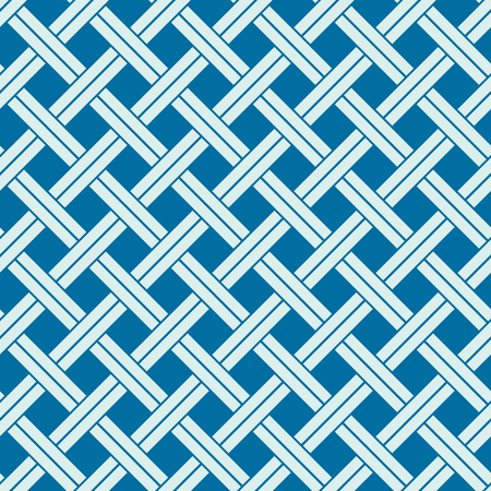 intertwine: Vector abstract seamless composition best for use in textile and fabric, symmetric ornate background created with grid, netting