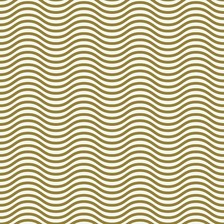Vector seamless pattern, graphic geometric wrapping paper. Abstract backdrop created with wavy lines can be used in textile and web designs Illustration