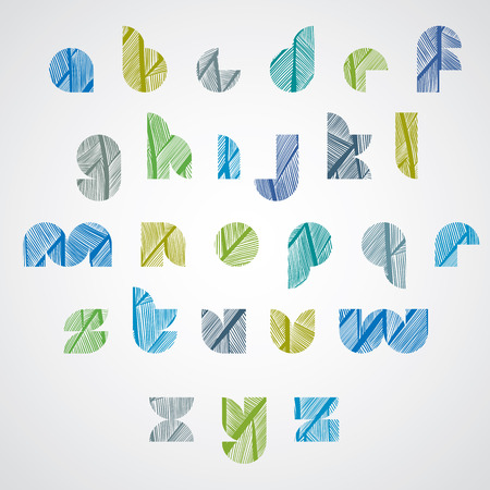 celebrities: Pattern ornamental colorful fashionable font, lower case letters.