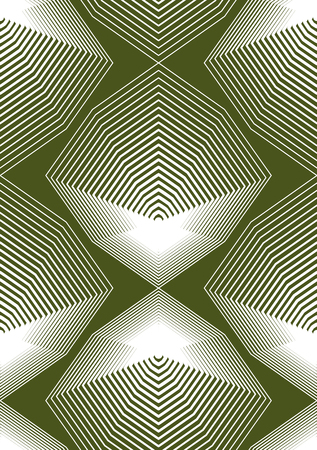 Geometric colorful stripy seamless pattern, bright vector abstract background. Graphic symmetric ornament. Illustration