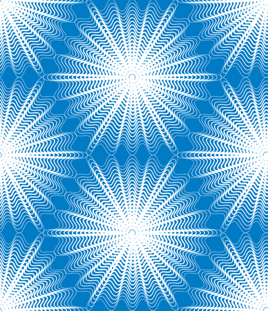 Vector bright stripy endless pattern, art continuous geometric background with graphic lines.