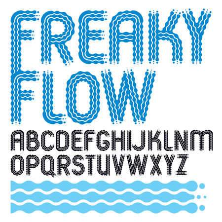 u k: English alphabet letters design collection.