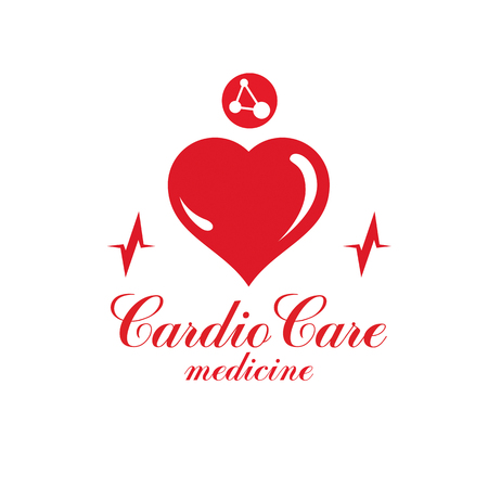 Cardiology conceptual signage.