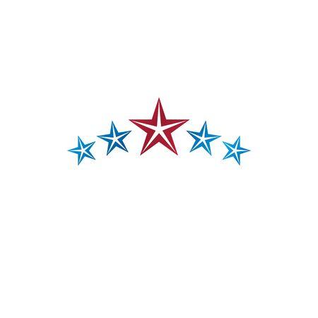 5 stars emblem.