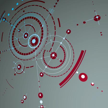 perspectiva lineal: Patrón de forma abstracta para el concepto de banner.