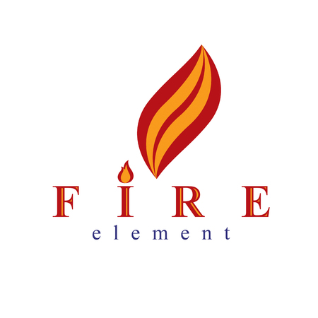 Fire element abstract.