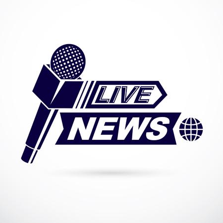 World news design concept.