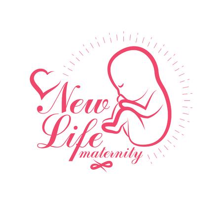 New life conceptual symbol.