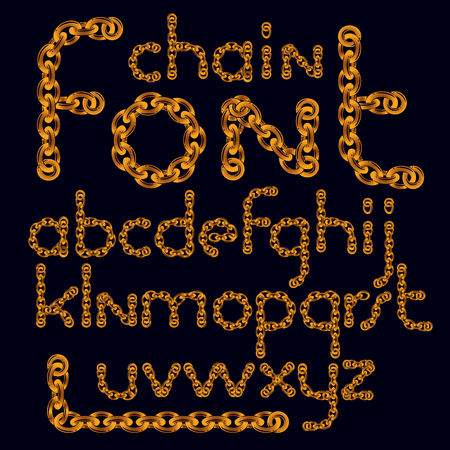 English alphabet letters collection.
