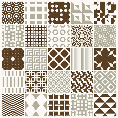 Ornamental backdrops with geometric pattern.