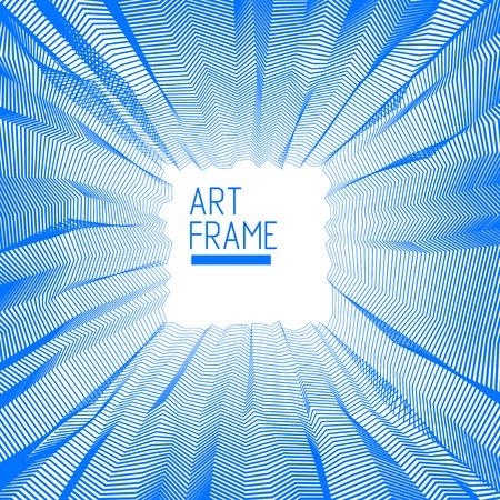 A Vector illusive surreal art background for design like a hallucination drug trip surrealism, linear 3d trend. 일러스트