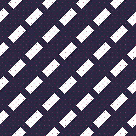 Dashed lines minimal vector seamless pattern, abstract background. Simple geometric design. Diagonal parallel stripes.
