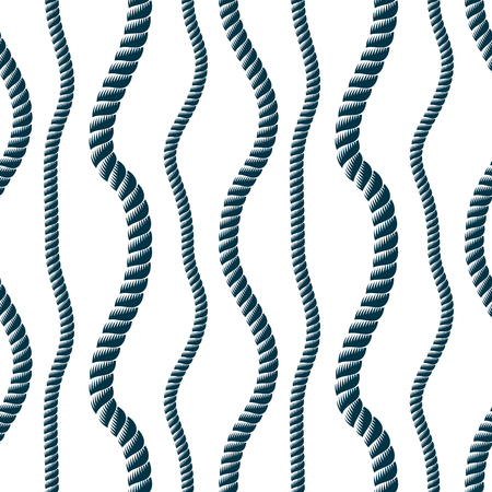 Seamless pattern rope woven vector, abstract illustrative background. Minimalistic simple cord stylish illustration. Usable for fabric, wallpaper, wrapping, web and print.
