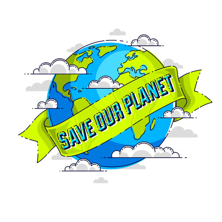 World international Earth Day concept