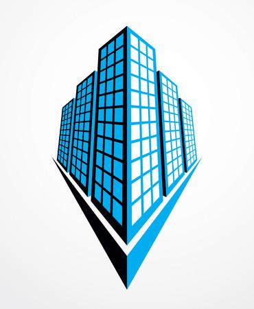 Modern architecture vector illustration.