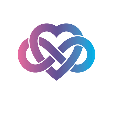 Eternal Love Conceptual Sign, Symbol Created With Infinity Loop ...