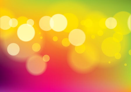 Defocused urban abstract blurred lights texture background. Colorful vector illustration for your design. Perfect abstraction with copy space for text.
