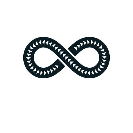 Infinity Loop vector symbol, conceptual logo special design.