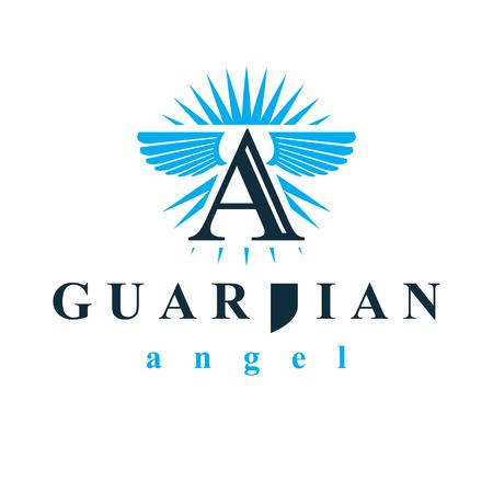Logo vectoriel graphique du Saint-Esprit à utiliser dans les organisations éducatives et religieuses. Logo