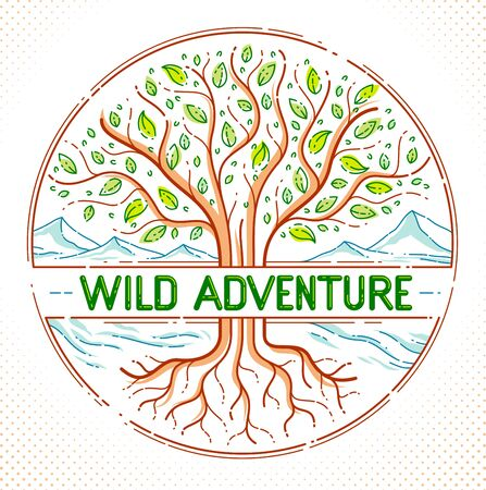 Nature wild adventure hiking and camping holidays leisure