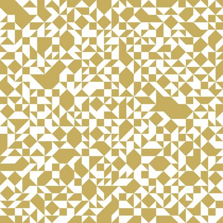 Geometric mosaic vector seamless pattern, chaotic abstract background for wallpapers, wrapping paper or website backgrounds.
