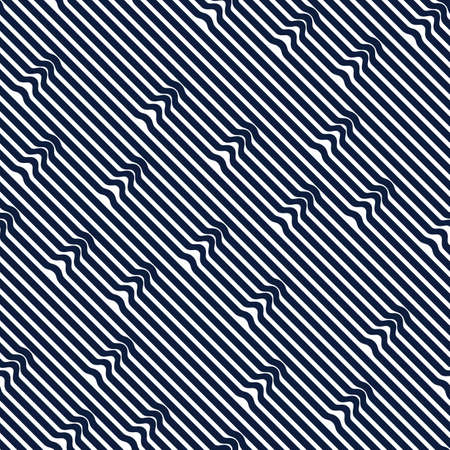 Seamless lines geometric pattern, abstract minimal vector background with parallel stripes, lined design for wallpaper or website. Illustration