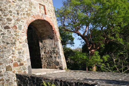 st john: plantation ruins in St. John