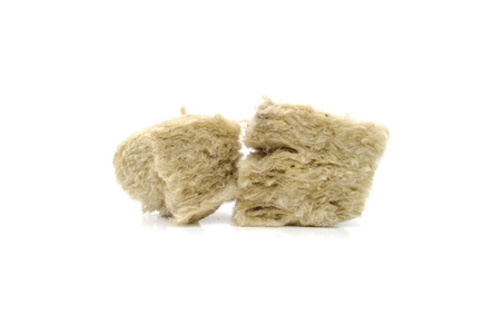 rockwool: Mineral wool for insulation.