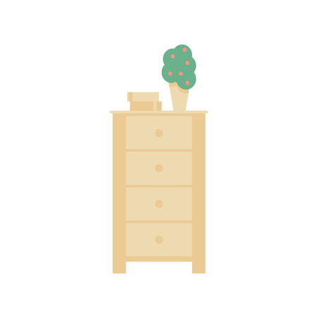highboy: Highboy flat vector design. It is executed in the old and modern style. Stock Photo