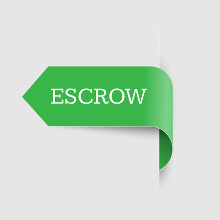Escrow place storage. Third party on behalf of other people.  How it works. Often used in real estate.