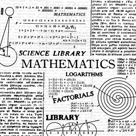 Mathematics cover, school subject.