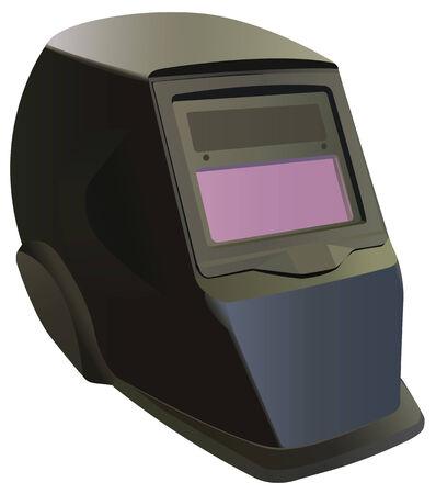 visor: Welding mask Illustration