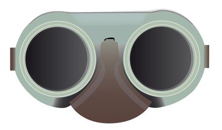 welding goggles  Illustration