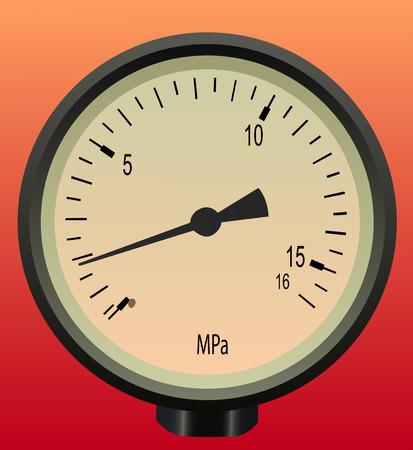 manometer: Manometer  Illustration