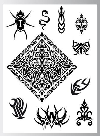 Set of the symbols  Vector