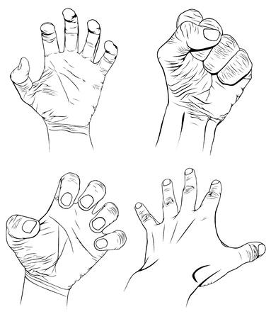agression: Jeu de mains avec plus d'�motions