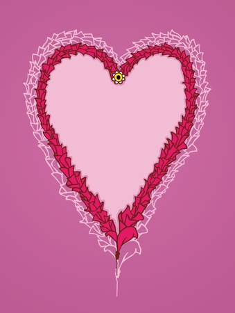 Hand drawn heart, valentine theme Stock Vector - 12372292