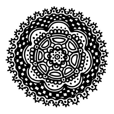 Hand drawn circle, vector decoration Stock Vector - 17569883