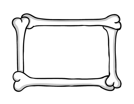 Bone frame  Vector