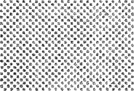 Hand drawn and sketched doodle texture, vector illustration