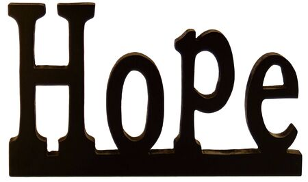 Hope sign Stock Photo - 5029489