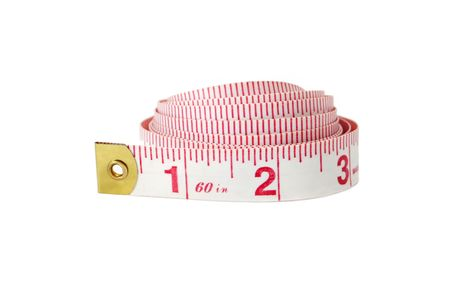 coiled: Coiled tape measure