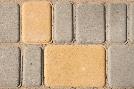 Pavement textured background concept. Close-up. Copy space. Banco de Imagens