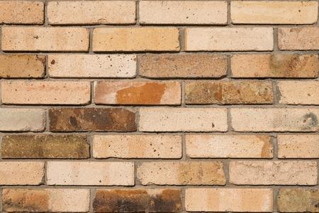 Detailed old orange brick wall background photo texture