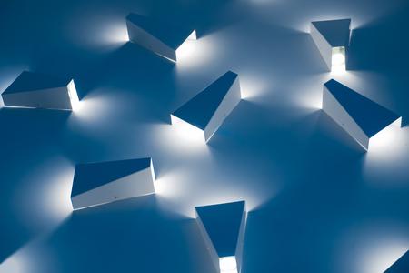 Led light lighting. Modern light indoor style.