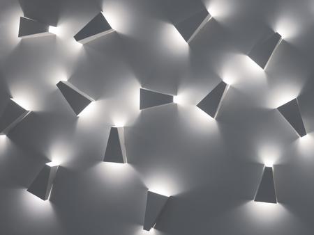 Modern indoor lighting concept. Modern indoor style. Фото со стока