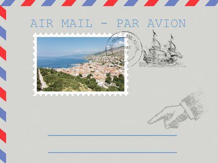 xxxl: Email illustration with @ symbol. XXXL FORMAT